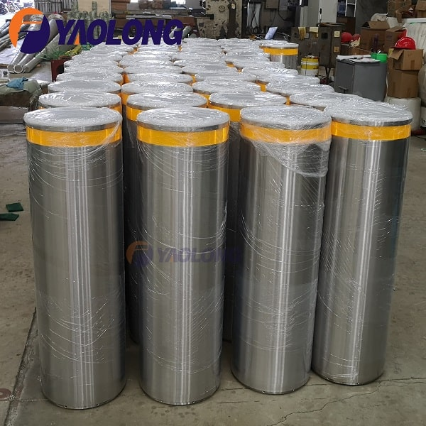1000mm stainless steel fixed bollard