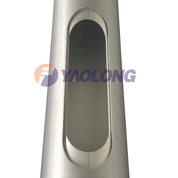 conical light pole door frame
