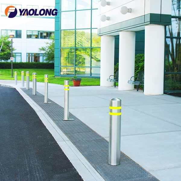 stainless steel bollard cover
