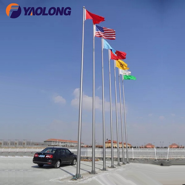 40 ft Internal Halyard Commercial Flag Pole,Yaolng Flagpole Company