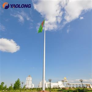 100 ft large flag pole
