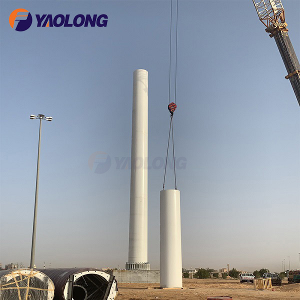 Strengthened Stainless Steel 316 Remote Controlled Tall Flagpole