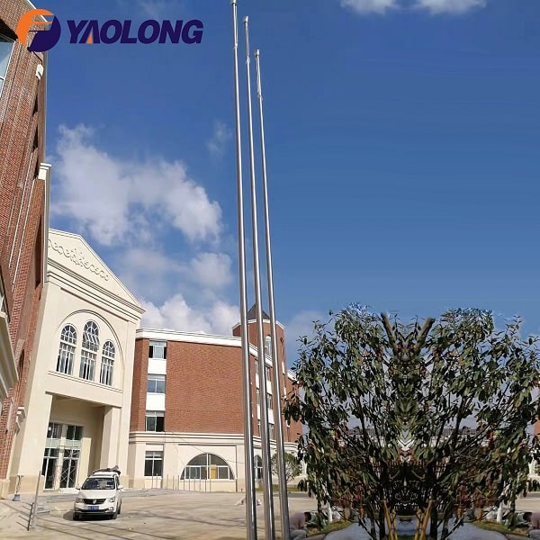 Stainless Steel Automatic Flagpole,Yaolong Flagpole Manufacturers