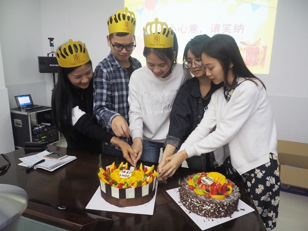 birthday party of stainless steel bollard
