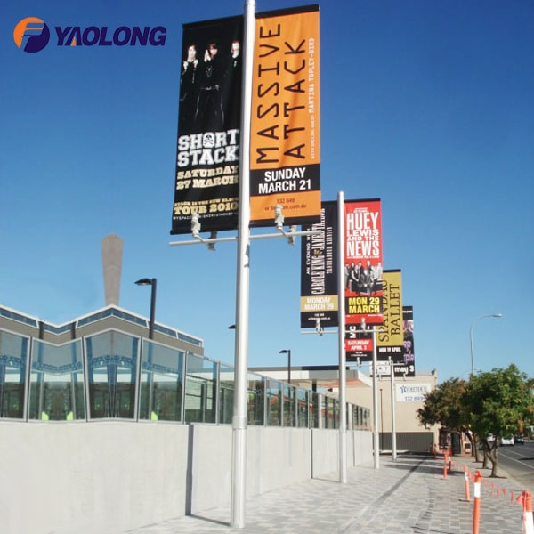 Advertising Banner Flag Pole For Sale,Yaolong Flagpole Manufacturers