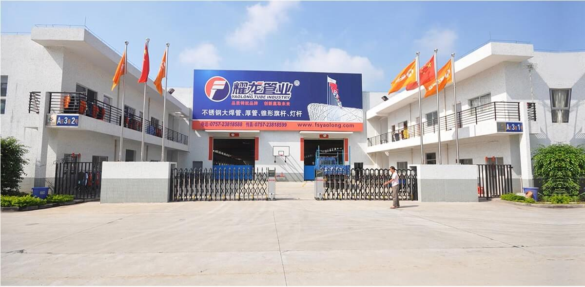flagpole light pole factory