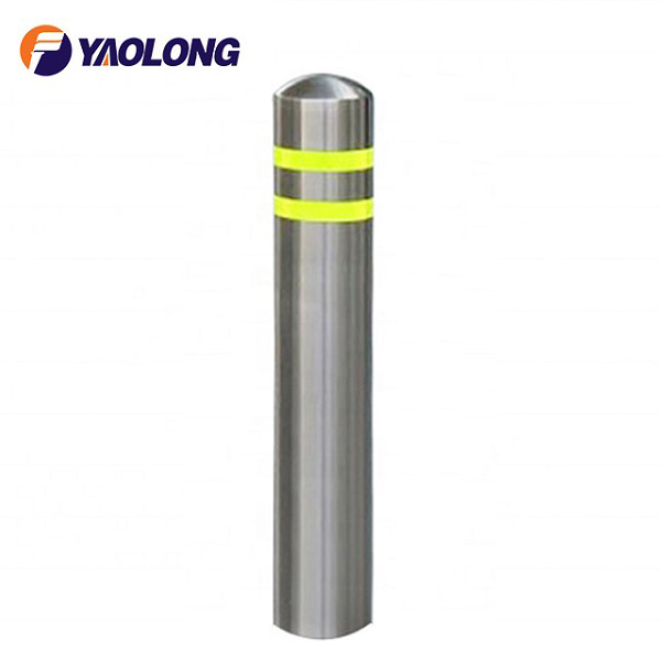 Safety Stainless Steel Bollard And Barrier ,Stainless Steel Fixed Bollard,Safety Bollard
