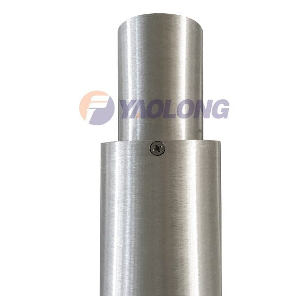 round straight light pole top final