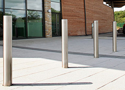 How Far Apart Should Bollards Be Placed?