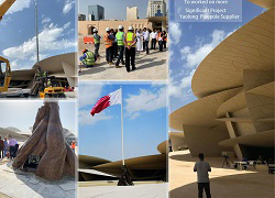 2019 Yaolong Become Flagpole Supplier Of Qatar Museum